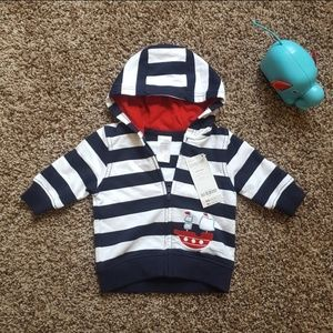 Gymboree Hooded Jacket - 3-6M